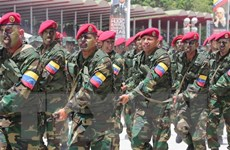 Quân đội Venezuela tiến hành tập trận Lá chắn Bolivar 2020