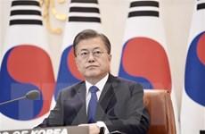 Tỷ lệ ủng hộ Tổng thống Hàn Quốc Moon Jae-in vượt ngưỡng 70%