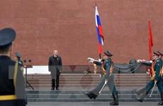 Tổng thống Nga Putin khẳng định tiếp tục xây dựng quân đội hùng mạnh