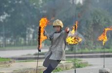 Ninh Bình huấn luyện nghiệp vụ chủ động công tác phòng cháy chữa cháy