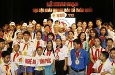 Công bố Giải thưởng Kim Đồng toàn quốc năm học 2019-2020