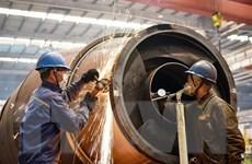 Sản lượng công nghiệp Trung Quốc tăng lần đầu tiên trong năm 2020