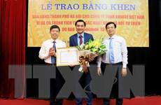 Amway Việt Nam nhận bằng khen của UBND thành phố Hà Nội và Lạng Sơn