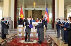 Campuchia cảm ơn Quốc hội Việt Nam tặng quà phòng chống dịch COVID-19