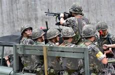 Hàn Quốc tập trận chống xâm nhập bất hợp pháp vào cửa sông Hàn