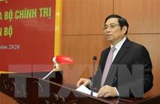 Đoàn công tác Ban Bí thư TW Đảng làm việc với Ban Thường vụ Quân ủy TW