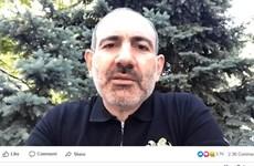 Thủ tướng Armenia Nikol Pashinyan nhiễm virus SARS-CoV-2