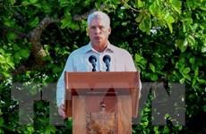 Chủ tịch Cuba lên án các biện pháp trừng phạt mới của Mỹ