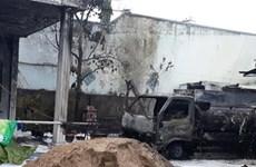 Cháy xe bồn chở xăng làm 1 người chết, 2 người bị thương