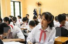 Hình ảnh các trường THCS Hà Nội tập trung ôn luyện cho học sinh lớp 9