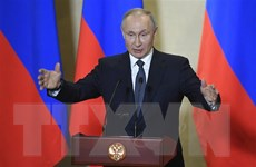 Ông Putin bày tỏ tin tưởng người dân Nga ủng hộ sửa đổi Hiến pháp