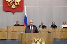 Tổng thống Putin đề cao lịch sử vinh quang của nước Nga