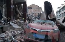 Số thương vong trong vụ nổ xe bồn ở Trung Quốc lên tới hơn 180 người
