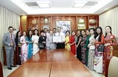 Tiếp nhận vật tư y tế hỗ trợ kiều bào Việt Nam tại Hàn Quốc chống dịch