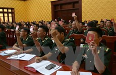 Đảng bộ Bộ đội Biên phòng Quảng Bình tổ chức thành công đại hội điểm