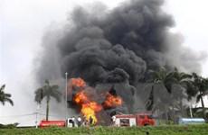 [Video] Khẩn trương làm rõ nguyên nhân cháy kho hóa chất tại Hà Nội