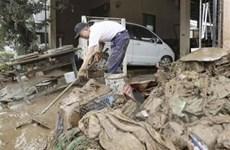 Số người thiệt mạng do mưa lũ tại Tây Nam Nhật Bản tăng cao
