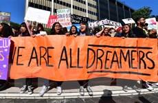 Ông Trump để ngỏ cơ hội trở thành công dân Mỹ cho thế hệ Dreamer