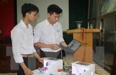 Học sinh Ninh Bình với sáng kiến Hệ thống quản lý giờ học thông minh