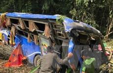 Vụ xe khách rơi xuống vực ở Kon Tum: Thêm 1 người tử vong