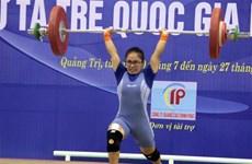 Giải vô địch Cử tạ trẻ quốc gia quy tụ 144 vận động viên tham gia