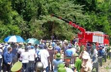 [Photo] Đã có 13 người tử vong trong vụ lật xe khách ở Quảng Bình