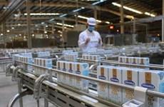 Doanh thu nội địa và xuất khẩu của Vinamilk đều tăng trưởng cao