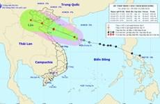 Áp thấp nhiệt đới gây gió giật, lốc xoáy khu vực giữa và Nam Biển Đông