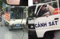 [Audio] Xôn xao vụ công an mặc quần đùi, áo cộc bắt hàng rong ở Hà Nội