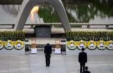 Nhật tổ chức lễ tưởng niệm 75 năm Mỹ ném bom nguyên tử xuống Hiroshima
