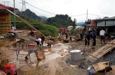 Lào Cai: Đất sạt lở đổ ập vào lán, cặp vợ chồng tử vong