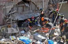 Cộng đồng quốc tế viện trợ cho Liban sau vụ nổ kinh hoàng