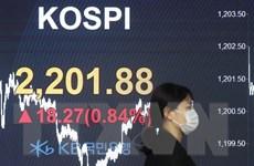 Chứng khoán thị trường châu Á phần lớn tăng điểm phiên 10/8