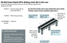 [Infographics] Hình thành diện mạo của đường vành đai 3 trên cao