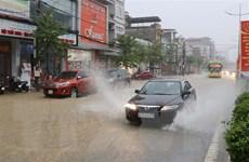 Mưa lớn gia tăng tại các tỉnh Đông Bắc Bộ, cần đề phòng lũ quét