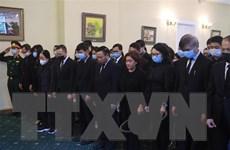 Lễ viếng nguyên Tổng Bí thư Lê Khả Phiêu tại Nga và Australia