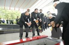 Hình ảnh Lễ an táng nguyên Tổng Bí thư Lê Khả Phiêu