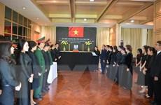 Lễ viếng nguyên Tổng Bí thư Lê Khả Phiêu tại các nước