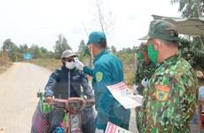 Dốc toàn lực phòng, chống COVID-19 trên tuyến biên giới dài hơn 50km