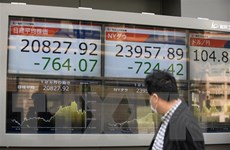 Chứng khoán châu Á giảm điểm khi Fed lo ngại về triển vọng kinh tế Mỹ