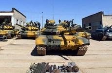 [Video] Trực tiếp hoạt động thi đấu xe tăng trong Army Games 2020