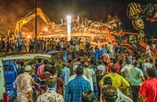 Sập nhà ở Ấn Độ: Ít nhất 70 người đang bị chôn vùi trong đống đổ nát