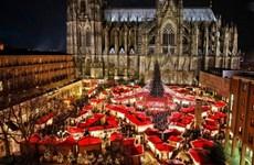Thành phố đầu tiên của Đức tạm chia tay với chợ Giáng sinh