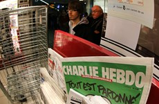 Tạp chí Charlie Hebdo lại đăng các bức biếm họa nhà tiên tri Mohamed