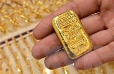 Giá vàng thị trường thế giới giảm nhẹ do đồng USD mạnh lên