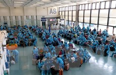 Dịch COVID-19: Đưa 230 công dân Việt Nam từ Đài Loan về nước