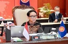 Ngoại trưởng Indonesia nhấn mạnh hợp tác y tế, phục hồi kinh tế