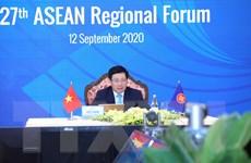 Ông Phạm Bình Minh chủ trì Hội nghị Diễn đàn Khu vực ASEAN lần thứ 27