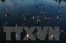 [Photo] Độc đáo lễ hội Phá trằm bắt cá ở tỉnh Quảng Trị