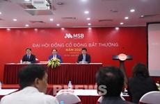 MSB đại hội cổ đông bất thường, bầu bổ sung nhân sự cấp cao